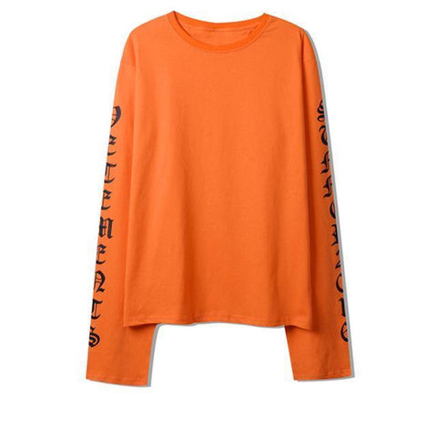 """Summer 16"" Oversized Long Sleeve Shirt"
