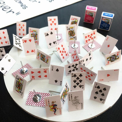 Poker Cards Earrings