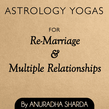 Astrological Yogas for second marriage
