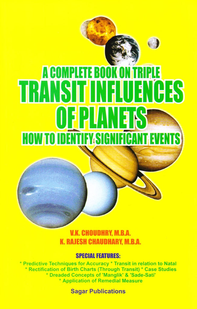 A Complete Book On Triple Transit Influences Of Planets- How To Identify Significant Events