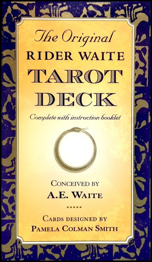 The Oiginal Rider Waite Tarot Deck By A.E. Waite Book