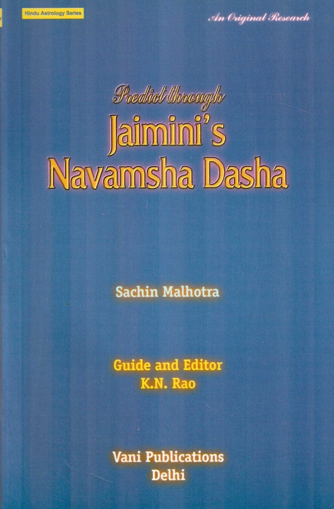 Predict Through Jaimini'S Navamsha Dasha