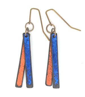 Blowing in the Wyoming Wind Earrings