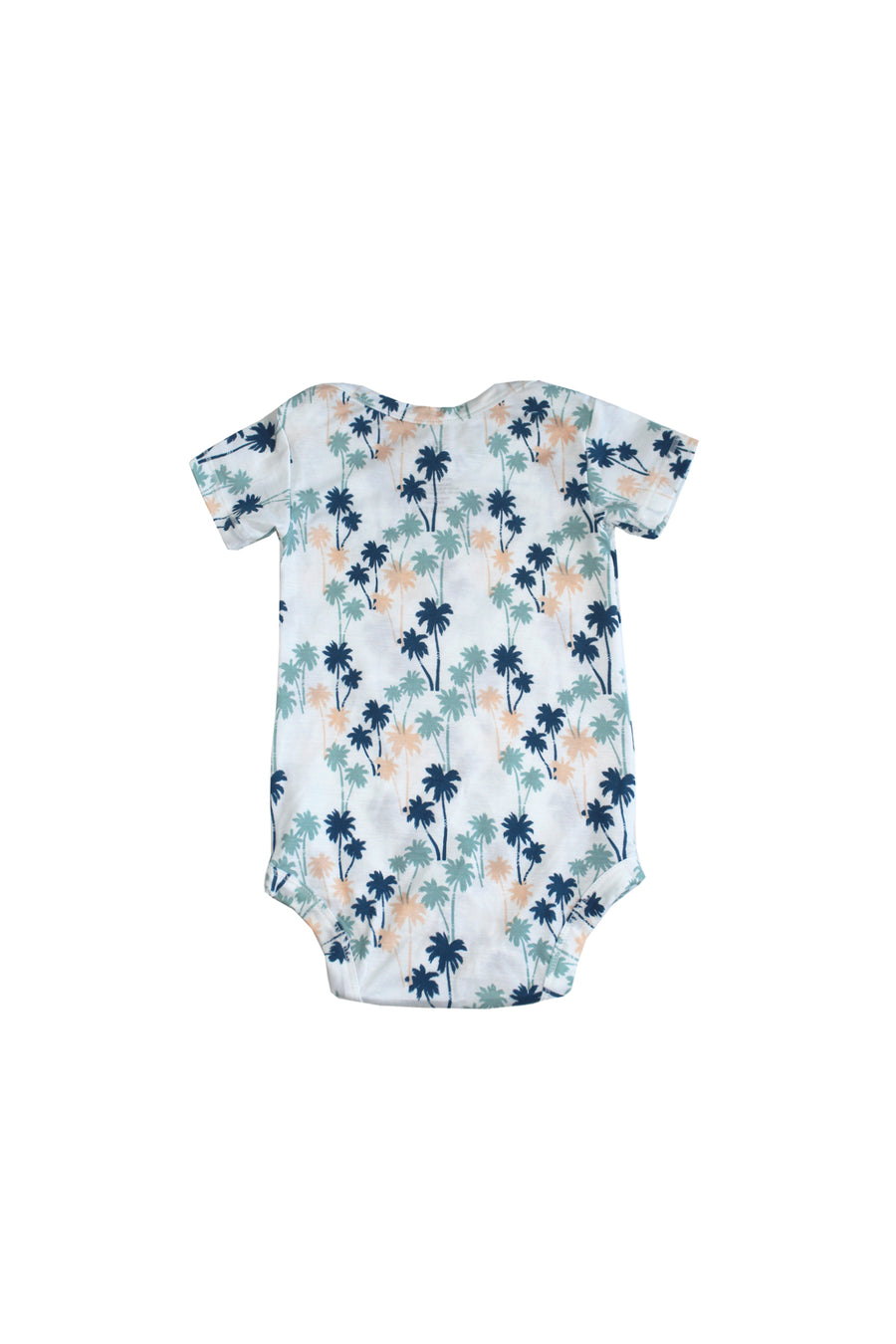 Short Sleeve Onesie - Palm