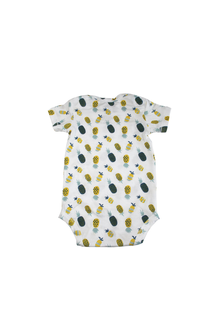 Short Sleeve Onesie - Pineapple