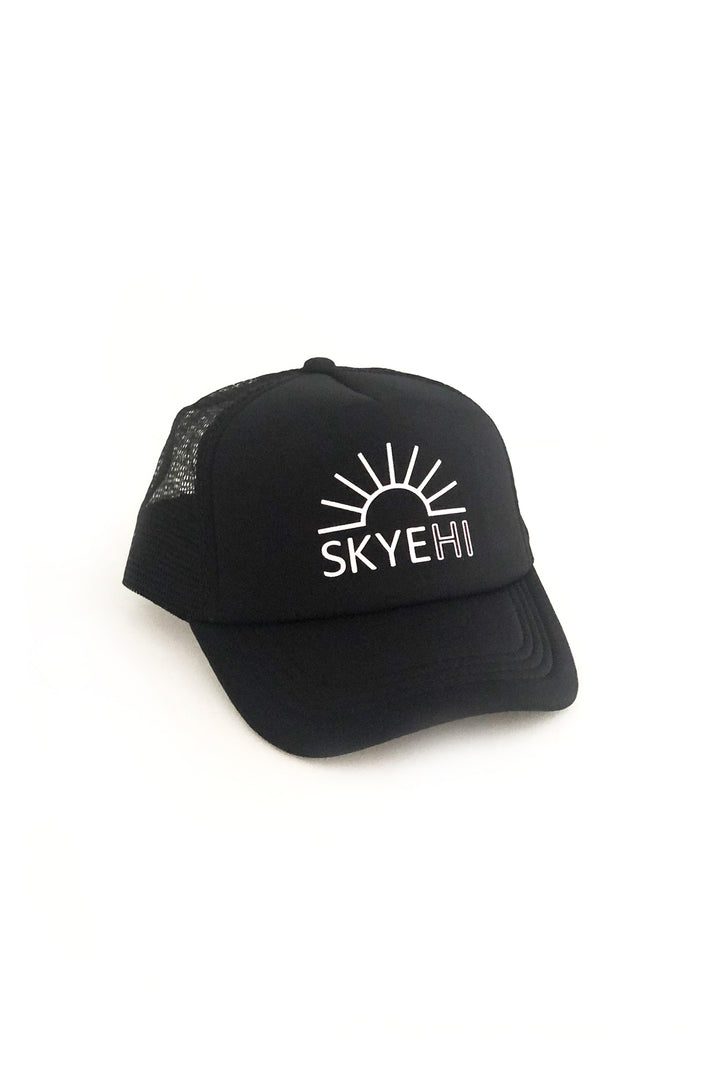 Logo Trucker Hat - Black