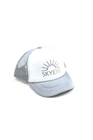 Logo Trucker Hat - Gray