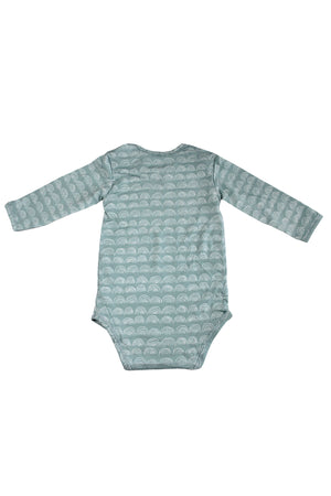 Long Sleeve Onesie - Surfspray Rainbow