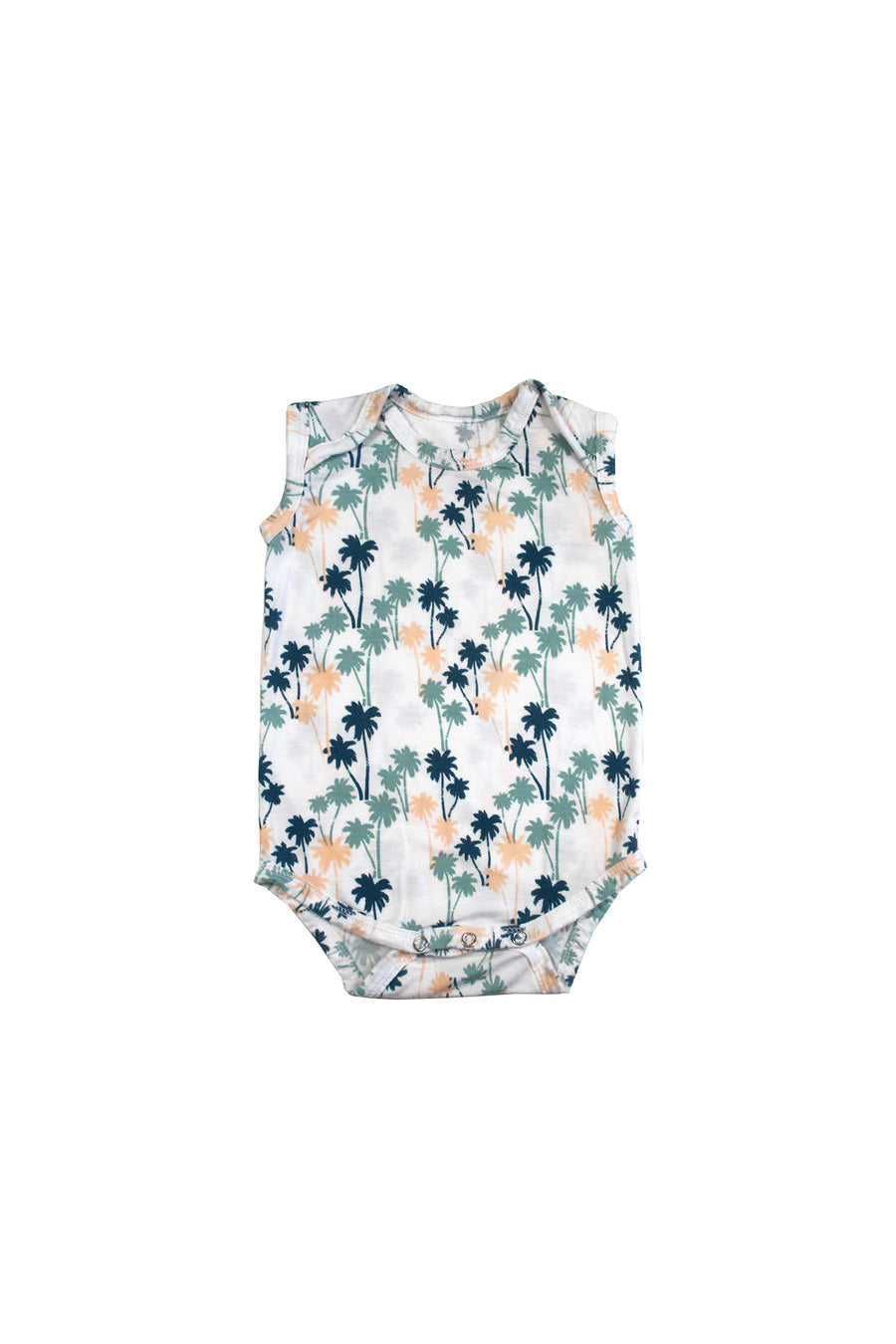 Sleeveless Onesie - Palm
