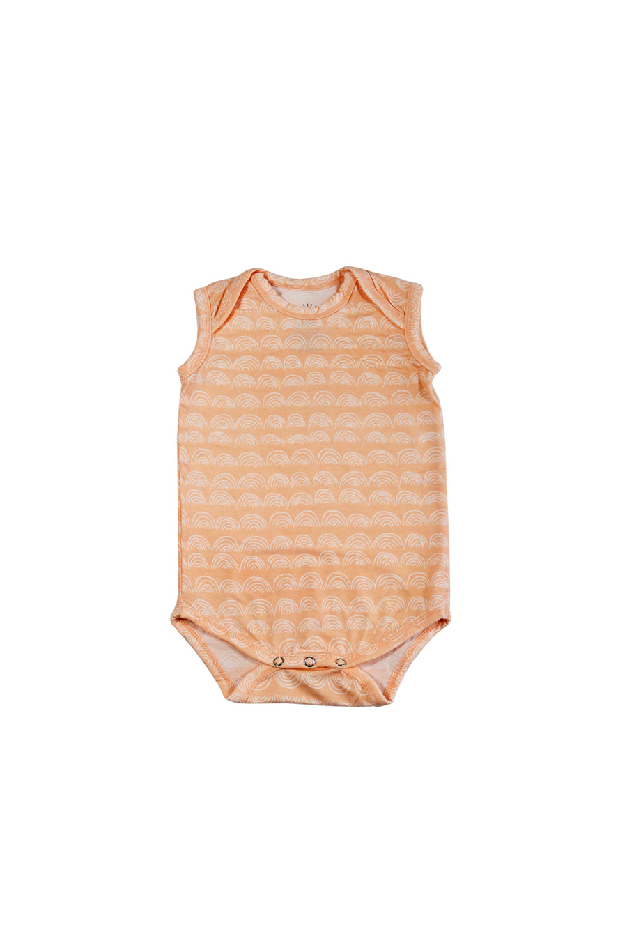 Sleeveless Onesie - Beach Sand Rainbow