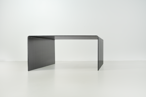 Square steel coffee table