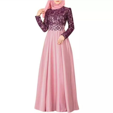 Abaya Muslim Islamic Womens Long Dress