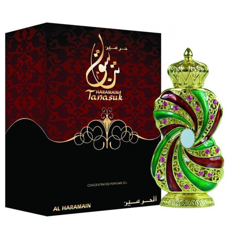 Tanasuk 12ml Perfume Oil Attar by Al Haramain