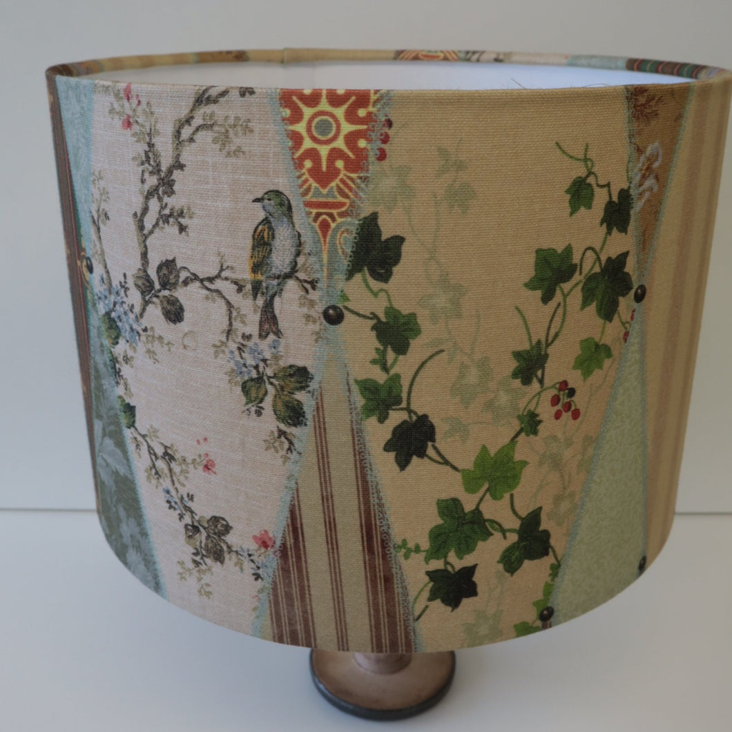 Escape to the Chateau Designer Fabric  Lampshade