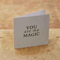 Monday Sunday Card You are my magic Cards You are my magic 24