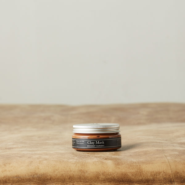 Monday Sunday Clay Mask Detox Face Orange - Detox