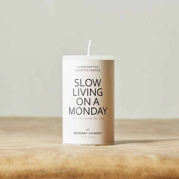 Monday Sunday Duft 7*12, Essence Candle Candles Essence Cdl