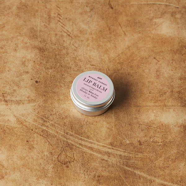Monday Sunday Lip Balm Face Pink