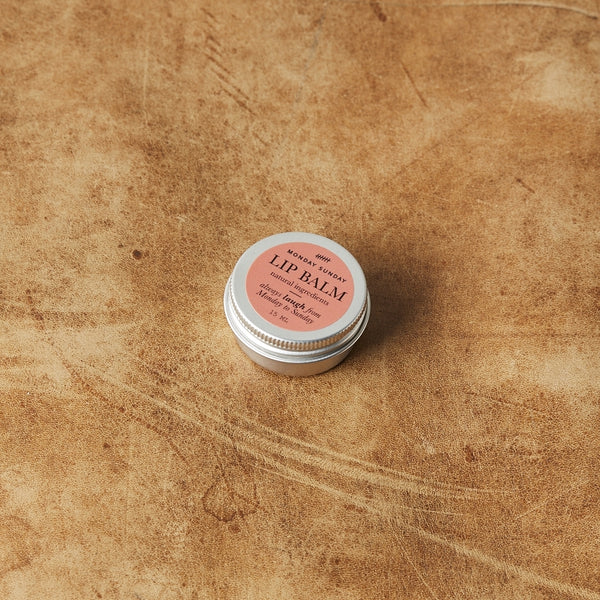 Monday Sunday Lip Balm Face Red