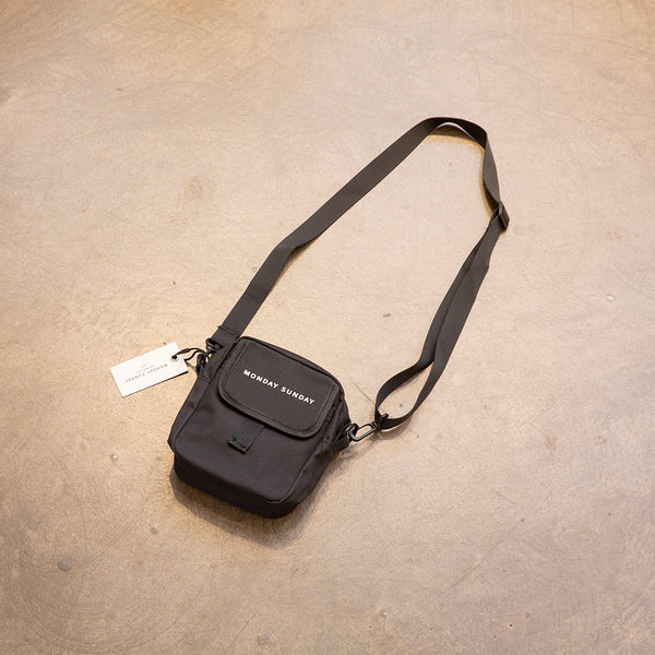 Monday Sunday Multi-function small waistbag - JZ-D233.B Bags Black