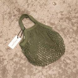 Monday Sunday SMALL MESH BAG -ARMY GREEN Bags Green