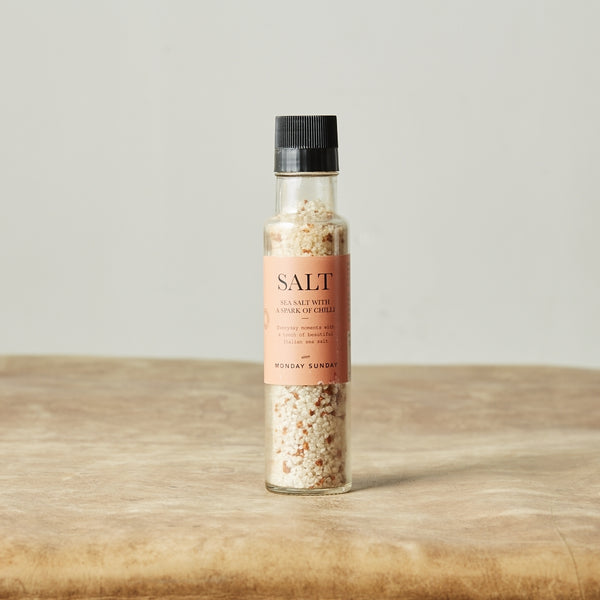 Monday Sunday Sea Salt w. Chili Salt & Pepper Orange