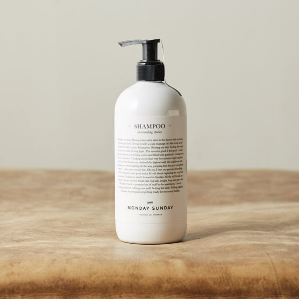 Monday Sunday Stories Shampoo 500 ml Hair White