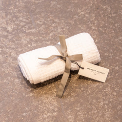 Monday Sunday Trine Cube Towel 40x60 Towels White