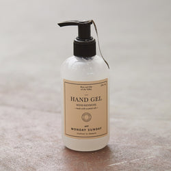 Monday Sunday Memories Hand cleaning gel w/alcohol 250 ml Hands White