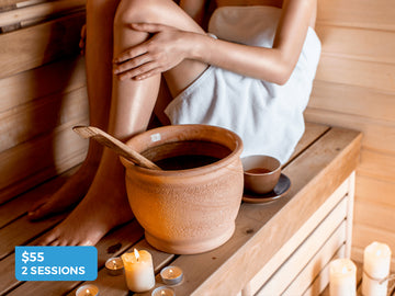 2 Infrared Sauna sessions for just $55- Surfcoast Wellness Rooms