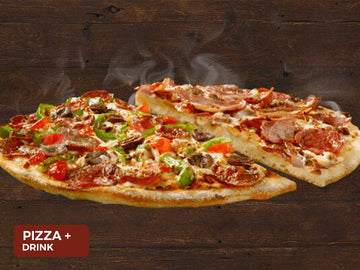 Pizza + drink $9.95 - Domino's Torquay