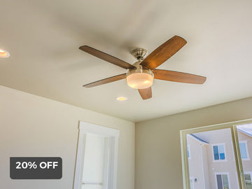 20% off ceiling fan + install with Surfcoast Electrics
