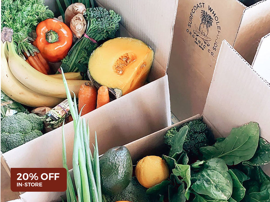 20% Off Fresh Produce Saturdays at Surfcoast Wholefoods