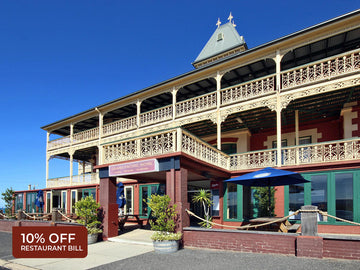 10% Off Restaurant Bill at The Grand Pacific Hotel, Lorne