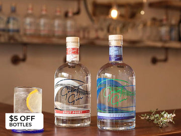 $5 special offer off any 700ml bottle of Great Ocean Road Gin
