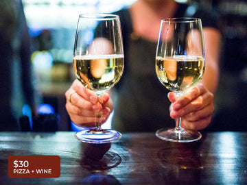 $30 For 2 Wines + Housemade Pizza - Mr Archer Wine Bar