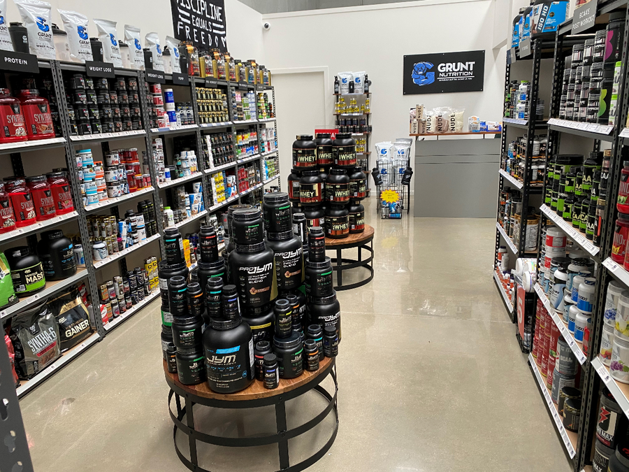 20% Off all protein - Grunt Nutrition