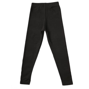 Onederful Co Girls Black High Waisted Leggings Back View