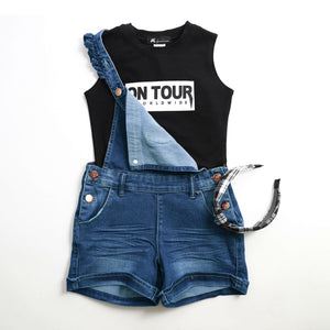 On Tour Muscle Crop Top