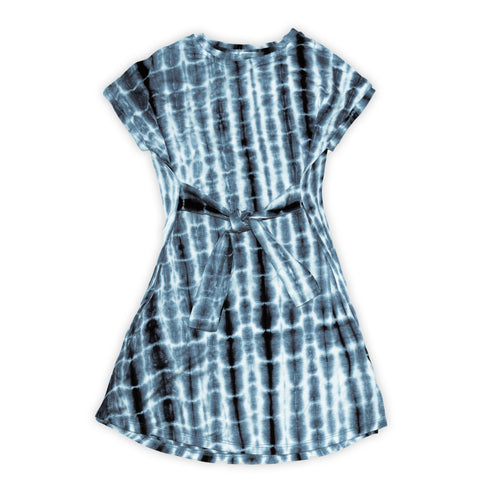 HAYDEN LA Tie Front Tie Dye Dress