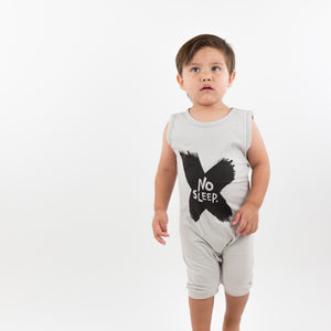 Onederful Co. Baby Boys No Sleep Romper, Toddler