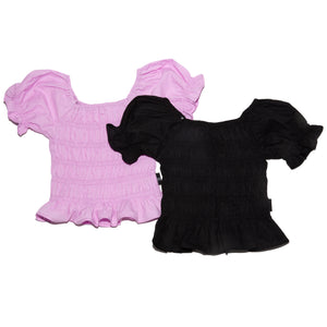 Onederful Co. GIrls Puff Sleeve Tops