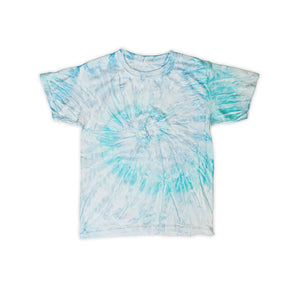 Onederful Co. Boys Sky Aqua Tie Dye Tee
