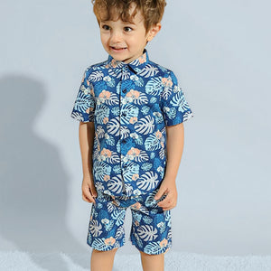 Boys Summer Shirt + Short Set