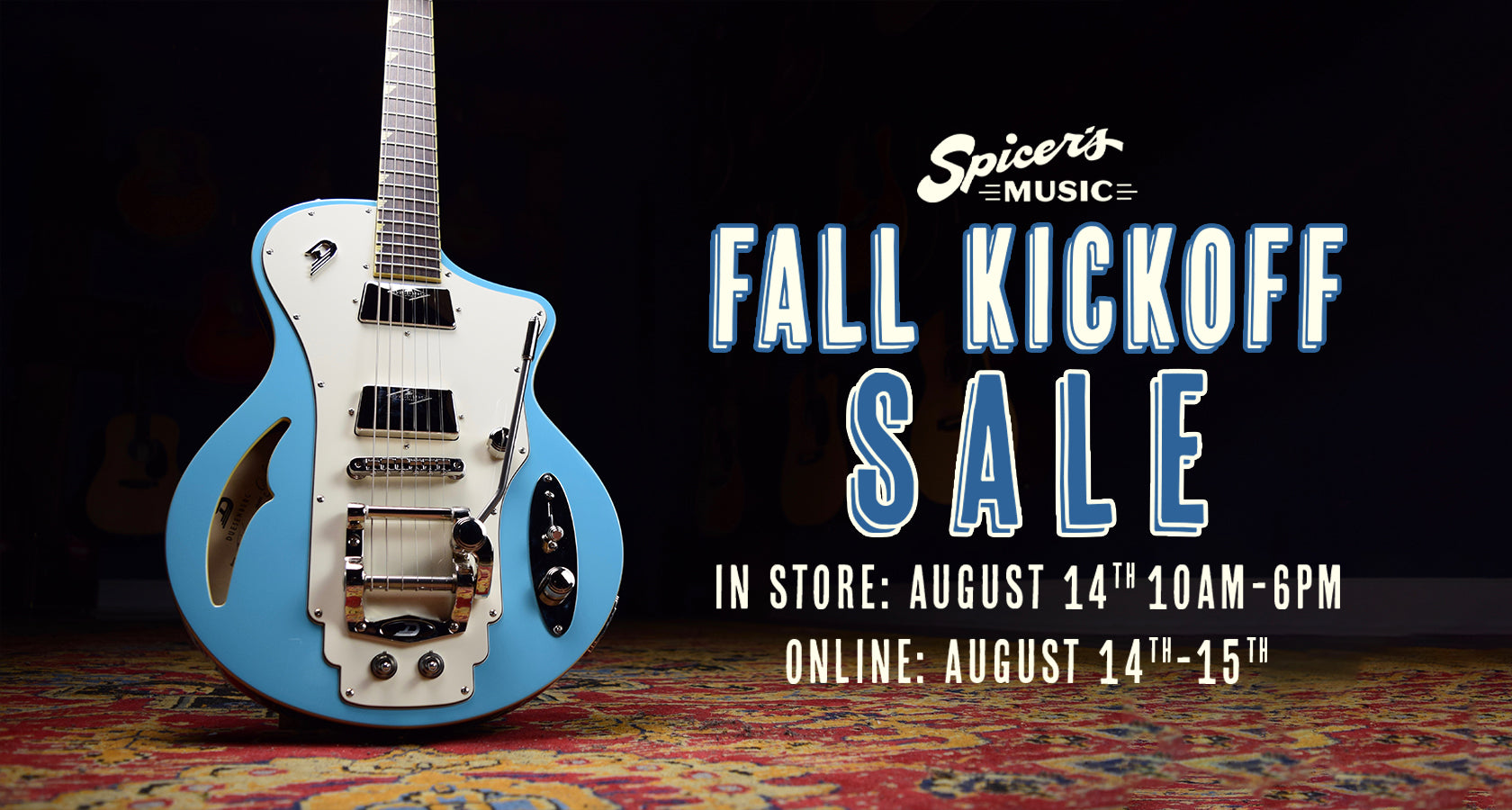 Spicer's Music Fall Kickoff Sale 2021