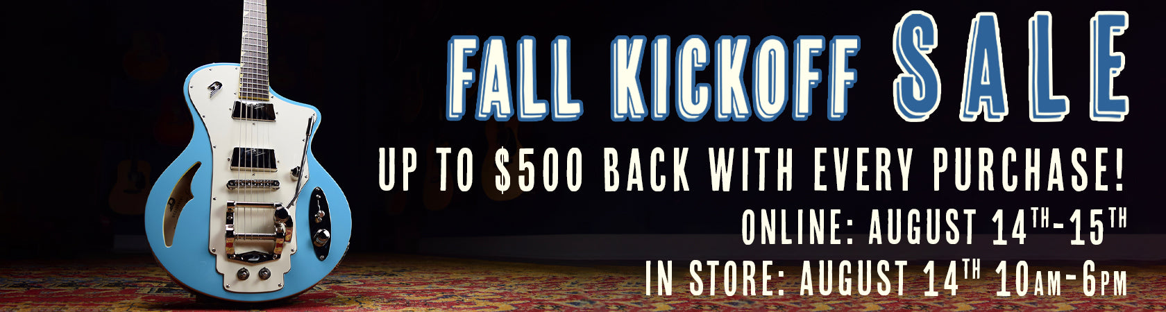 Spicer's Music Fall Kickoff 2021 Sale