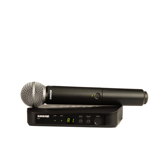 Shure BLX24/SM58-H10 Wireless Microphone System