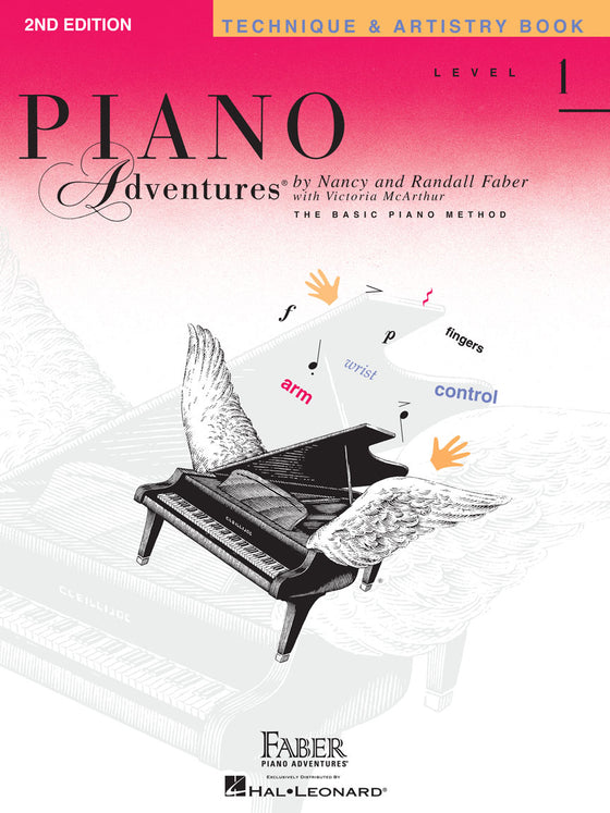 Faber Piano Adventures Technique & Artistry Book Level 1
