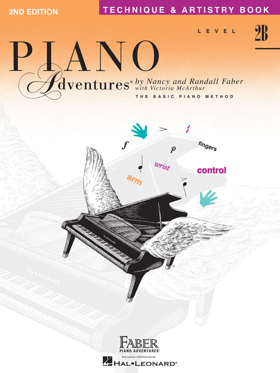 Faber Piano Adventures Technique & Artistry Book Level 2B