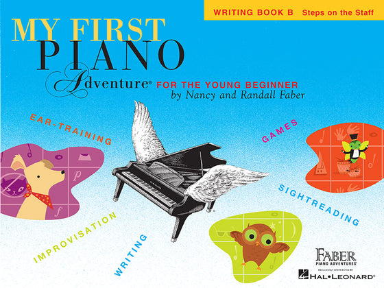 My First Piano Adventure for the Young Beginner Writing Book B
